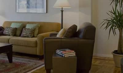 Living Room, eaves Glover Park, 0