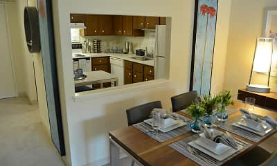 Kitchen, Faxon Commons, 2