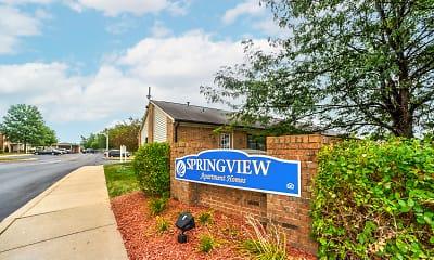 Community Signage, Springview Apartment Homes, 0