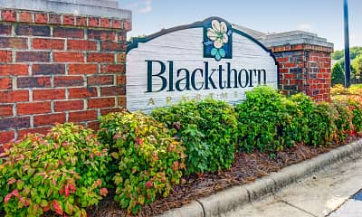 Community Signage, Blackthorn Apartments, 2