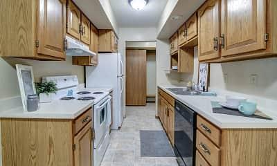 Kitchen, Capitol Apartments, 1