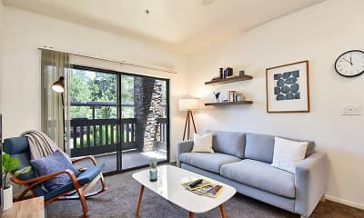 Living Room, Clear Creek Village, 0
