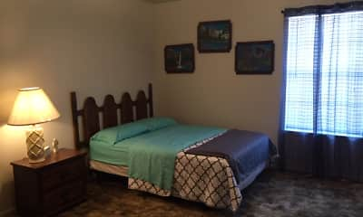 Bedroom, Whispering Oaks Apartments, 1