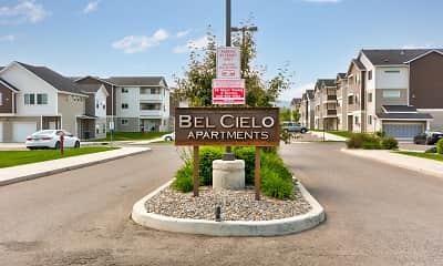 Community Signage, Bel Cielo Apartments, 1