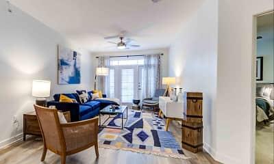 Living Room, Celeste at La Cantera, 1
