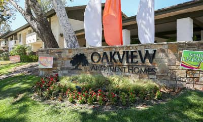 Community Signage, Oakview Apartments, 2
