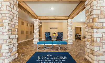 Living Room, The Villages at Ben White 55+, 1