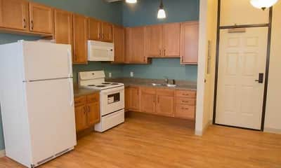 Kitchen, Legacy Apartments at Central Place, 2