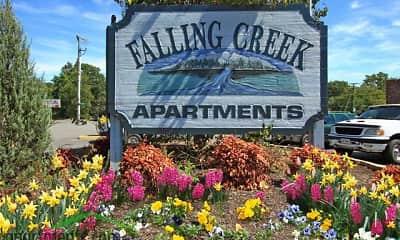 Community Signage, Falling Creek, 1