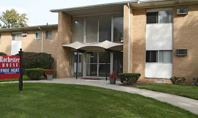 Building, Rochester House Apartments, 1
