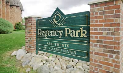 Community Signage, Regency Park Apartments, 2