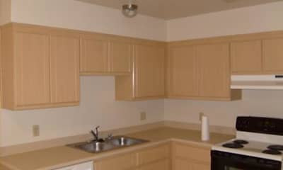 Kitchen, Marina Square Apartments, 1