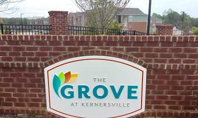 Community Signage, The Grove At Kernersville, 2