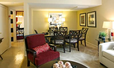 Dining Room, Howard Hills Townhomes, 2