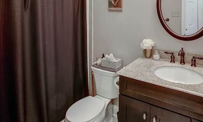 Bathroom, Hollandale Apartments, 2