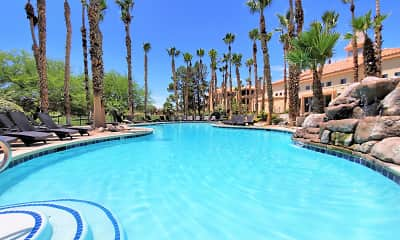 Pool, Ladera Apartments at Green Valley, 1
