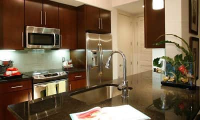 Kitchen, Apartments at University Heights, 1