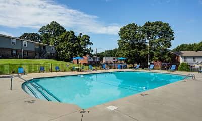 Pool, Sherwood Station, 1