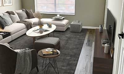 Living Room, Carrollton Village, 2