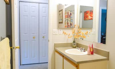 Bathroom, Tanglewood Apartments, 2