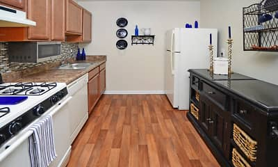 Kitchen, Willow Lake Apartment Homes, 1