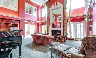 Living Room, Regents Club of Troy, 1