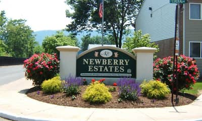 Community Signage, Newberry Estates, 0