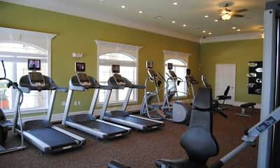 Fitness Weight Room, The Pointe Conway, 2