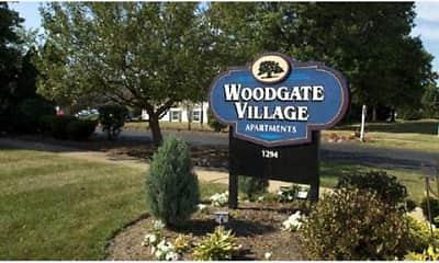 Community Signage, Woodgate Village, 0