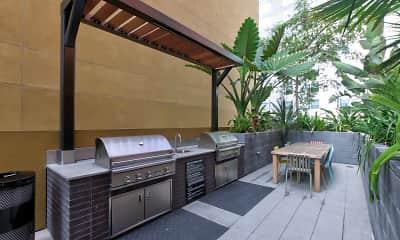Recreation Area, El Centro Apartments & Bungalows, 2