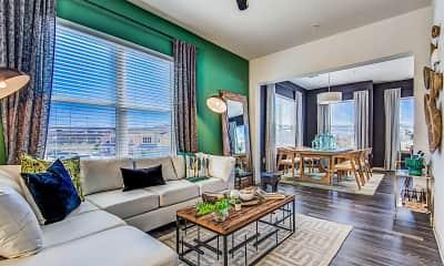 Living Room, Hebron 121 Station, 1