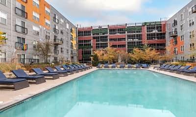 Pool, Ballpark Lofts Apartments, 0