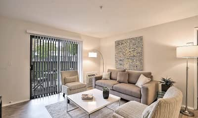 Living Room, Alvista at The Bridge, 0