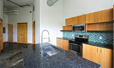 Kitchen, Cookie Factory Lofts, 1