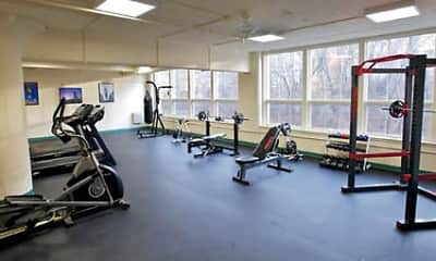 Fitness Weight Room, 560 On Main, 1