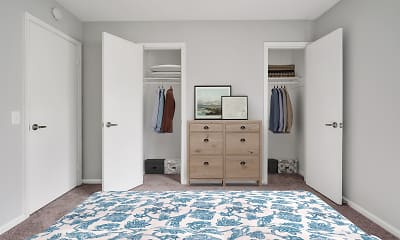 Bedroom, Harbor Station Townhomes, 1
