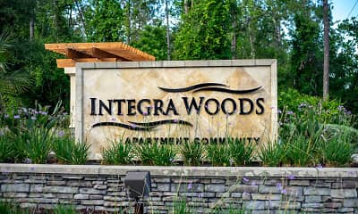 Community Signage, Integra Woods, 2