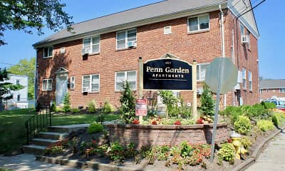 Community Signage, Penn Garden Apartments, 2