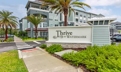 Community Signage, Thrive by Watermark, 2