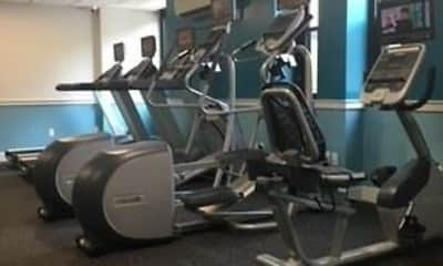 Fitness Weight Room, Lakewood Apartments, 1
