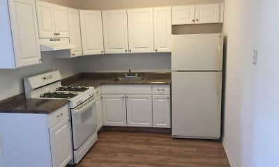 Kitchen, The Carriage House Apartments, 0