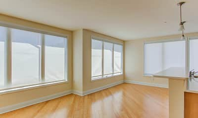 Living Room, The View at Edgewater Harbor, 2