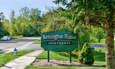 Community Signage, Kensington Manor Apartments, 2