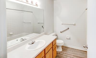 Bathroom, Woodland Crossing, 2