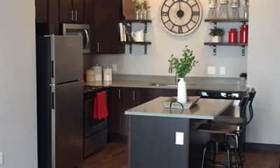 Kitchen, Brick Towne at Johnston, 1