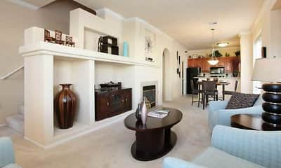 Living Room, Horizon Ridge Park Apartments, 2