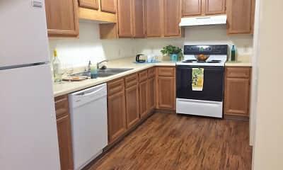 Kitchen, South Glen Village, 1