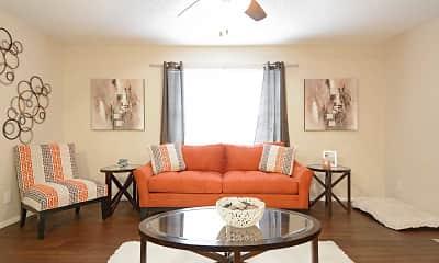 Living Room, River Oaks, 1