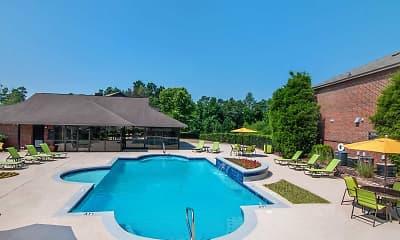 Pool, Greenleaf Apartments, 1