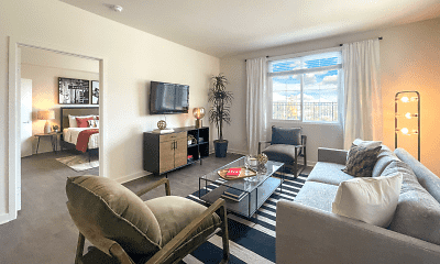 Living Room, RENDEZVOUS APARTMENTS, 1